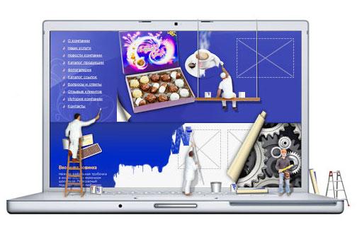 заказать дизайн сайта в профессиональной веб студии