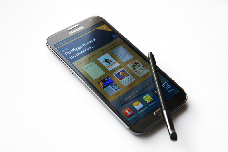 Обзор Samsung Galaxy Note II