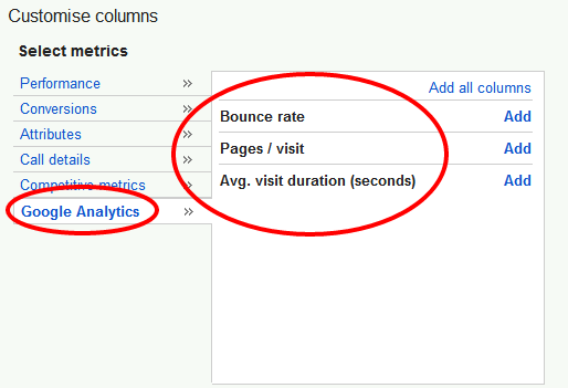 Google AdWords обзаведется статистикой Analytics