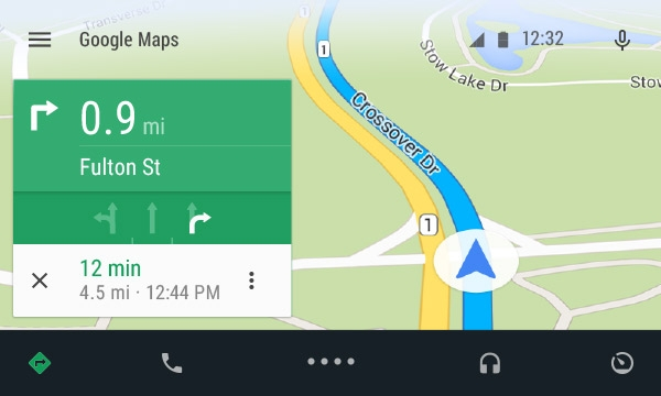 Android Auto — ответ Google на Apple CarPlay
