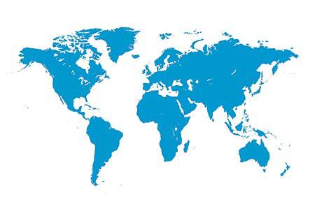 География наших клиентов Рэдлайн